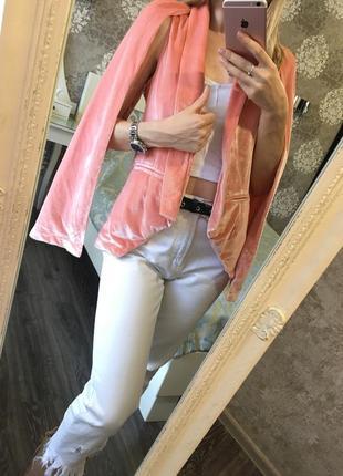 Оригинальный бархатный пиджак