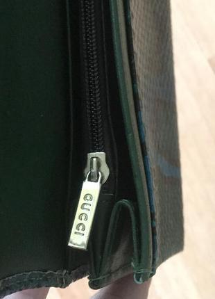 Кожаный кошелёк кошелёк gucci2 фото