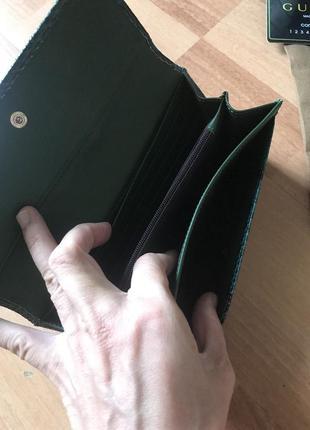 Кожаный кошелёк кошелёк gucci5 фото