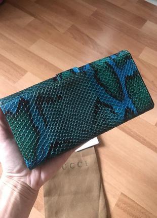 Кожаный кошелёк кошелёк gucci7 фото