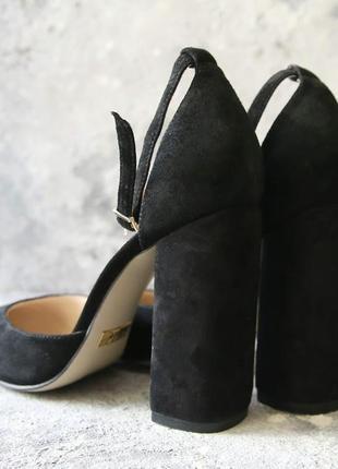 Женские замшевые туфли sokolick, стильные элегантные туфли5 фото