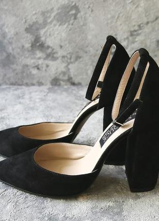 Женские замшевые туфли sokolick, стильные элегантные туфли3 фото