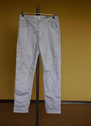 Брюки-штани сріблясті на 40 євро розмір turnover