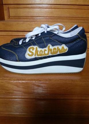 Оригинальные оригинал стильные американские фирменные кроссовки красовки кросовки skechers