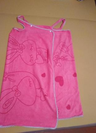 Полотенце халат банное