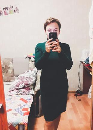 Шикарное трикотажное платье jet