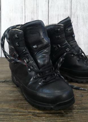 Ботинки треккинговые meindl, кожа, gore tex