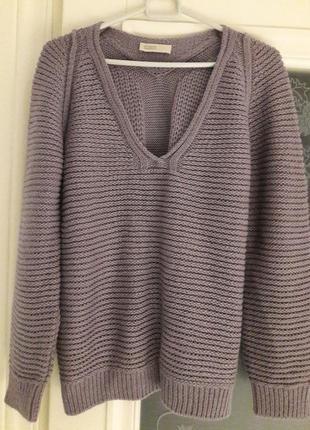 Closed стильный свитер! шерсть альпака!