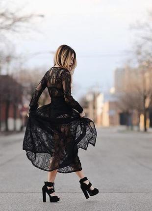 Кружевная юбка винтаж