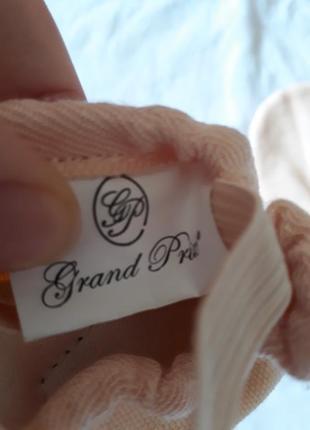 Балетки танцевальные персиковые 25 размер grand prix4 фото