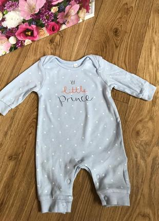 Хлопковый человечек/слип/ромпер для новорожденного