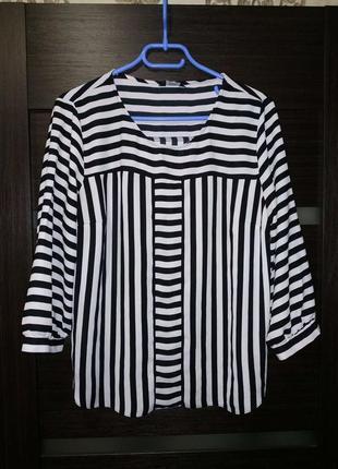 Базовая блузка в полоску