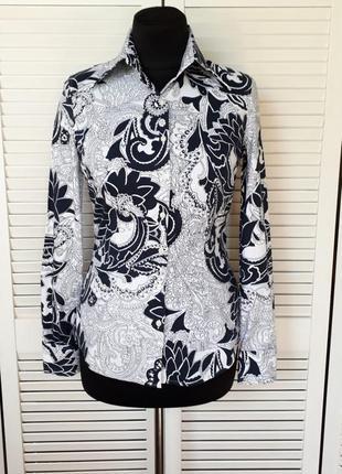 Стильная и красивая рубашка дорогой бренд красивые запонки