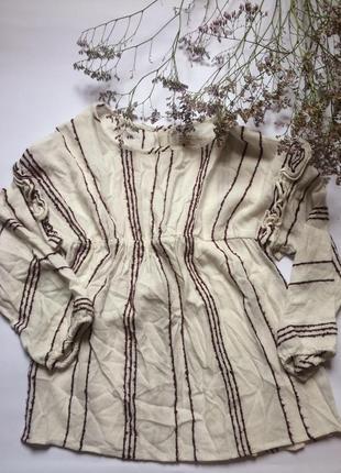 Рубашка/блузка в этно стиле zara