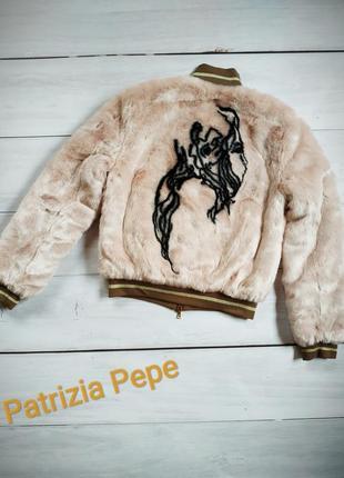 Двухсторонняя куртка шубка patrizia pepe. оригинал