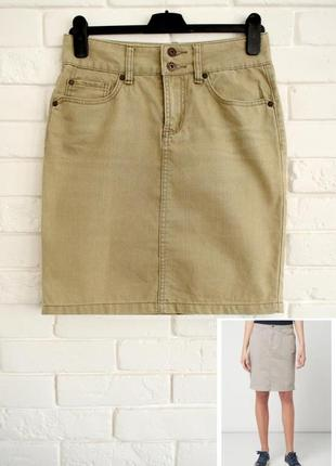 Стильная джинсовая юбка montego 36 в идеальном состоянии