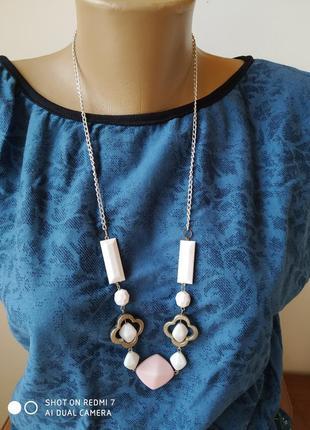 Жіноча ожерелье чокер жемчуг бусинки