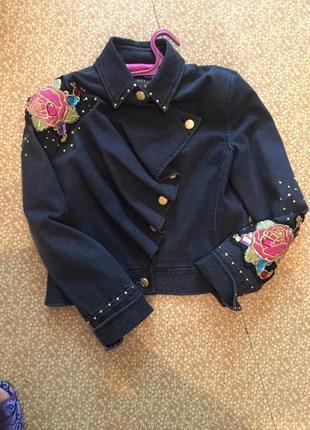 Шикарна куртка gizia 46-48 размер