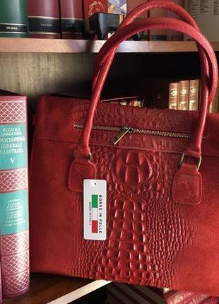 Італія шкіряна елегантна сумка