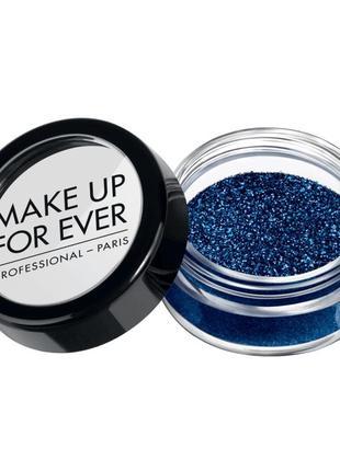 Блестки для лица и тела make up for ever glitters| n5 blue