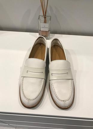Туфли mango кожа