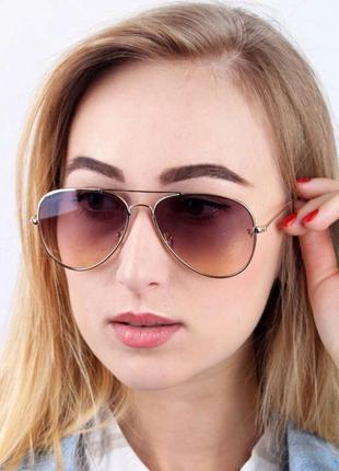 Имиджевые очки авиаторы