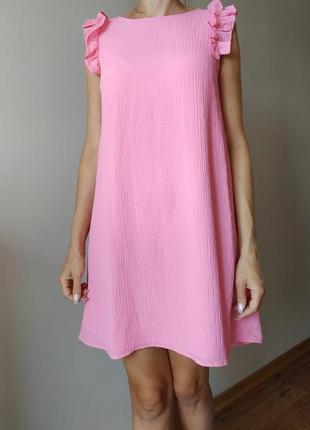 Платье, рлатье с рюшами
