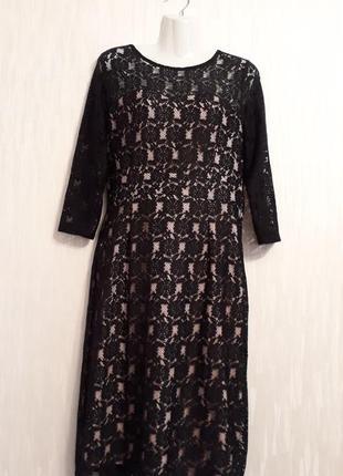 Платье гипюровое новое 50 размера