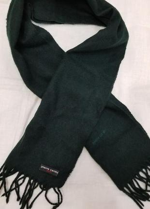 Классический шарф pierre cardin paris1 фото