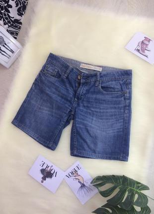 Шорты next джинс голубые