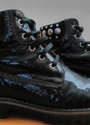 Кожанные итальянские шикарные  ботиночки 30р