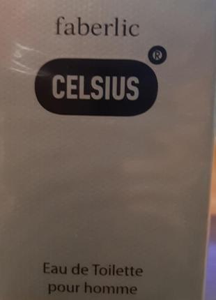 Туалетная вода для мужчин celsius