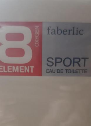 Туалетная вода для мужчин  8 element.