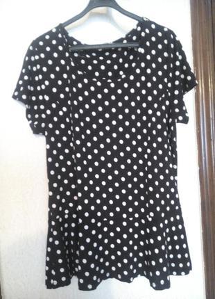 Блуза з баской!