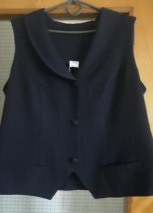 Костюм ( жилет и юбка)