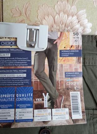 Крутые мужские брюки из твила  livergy р. 50 евро
