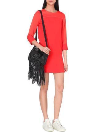 Платье туника красное алое люкс бренд maje