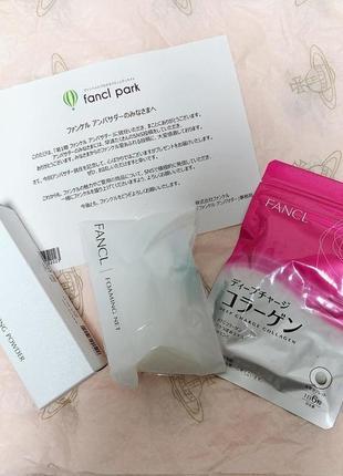 Коллаген- для красивой и упругой кожи fancl deep charge collagen, . япония .2 фото