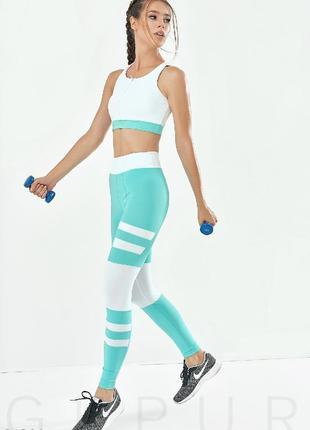 Женский стильный костюм для фитнеса