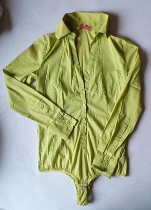 Рубашка-комбидресс (блузка с длинным рукавом)