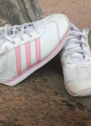 Adidas, продам кожаные кроссовки