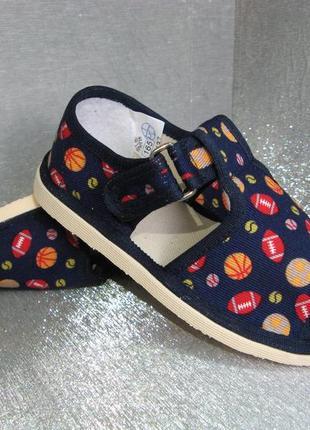 Тапочки сандалии детские для мальчика