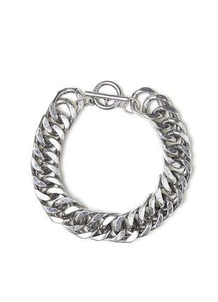 H&m браслет серебристый