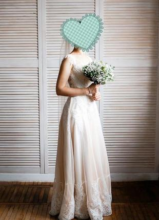 Продам свадебное платье, производство великобритания, размер 42 (xs)