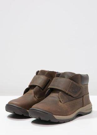 Демисезонные ботинки timberland. кожа. стелька 19,8см. оригинал