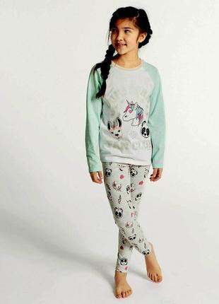Красивая пижамка для девочек от marks&spencer из англии