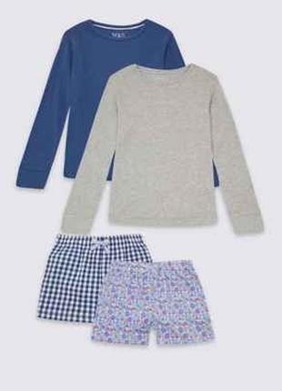 Классные пижамки для девочек от marks&spencer из англии на 7-8,9-10 лет акция