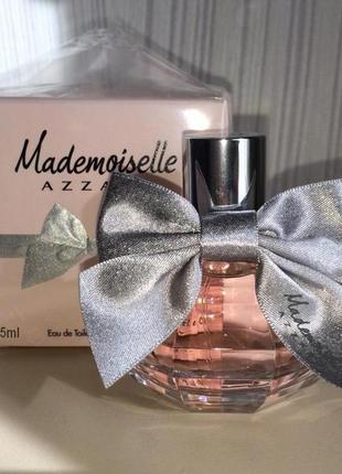 Azzaro mademoiselle_original_eau de toilette 5 мл затест_туал.вода3 фото