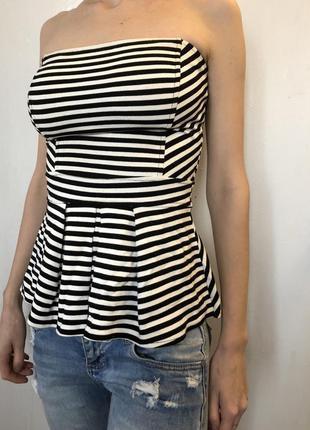 Блуза блузка полосатая в полоску jimmy key