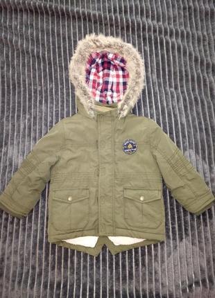 Куртка - парка f&f
